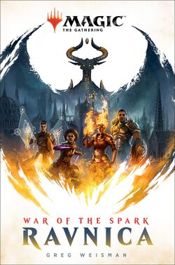 Ravnica War of the Spark novel.jpg