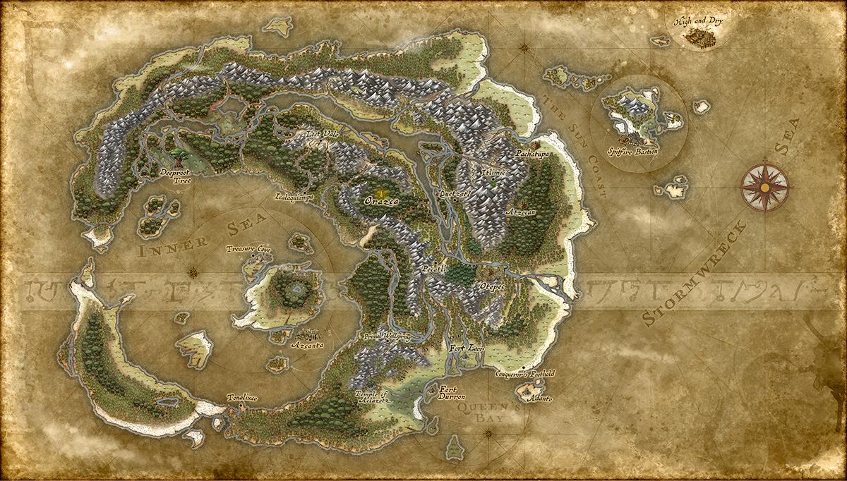 Fantasy World Map - TV Tropes