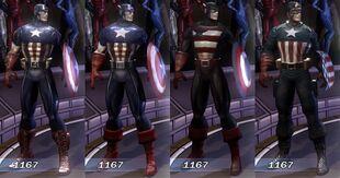 Captain America MUA Costumes