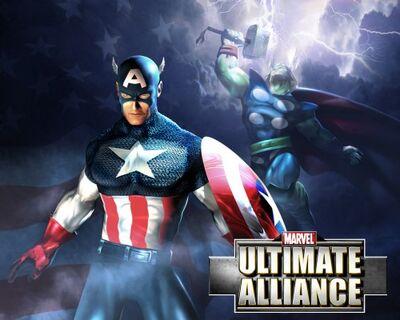 Marvel ultimate-alliance video-game captain-america thor (1).jpg