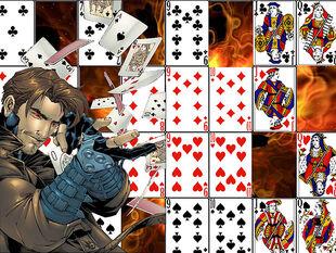 Gambit- The cajun warrior