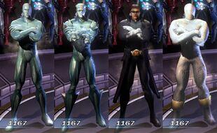 Iceman MUA Costumes