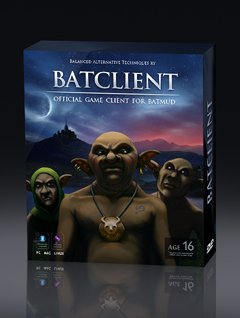 BatMUD Game Client download art