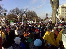 At Washington, DC.