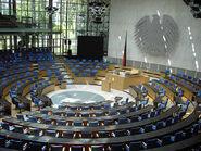 Bonn Bundestag Plenarsaal Germany