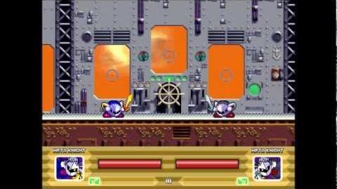 Kirby The Dream Battle Meta Knight Gameplay