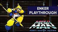 Mega Man Robot Master Mayhem (PC) - Enker Gameplay Playthrough