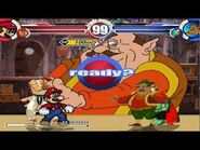Mario & Ryu vs Morshu & King K