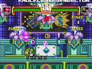 Knuckles versus Chaotix
