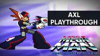 Mega Man Robot Master Mayhem (PC) - Axl Gameplay