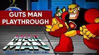 Mega Man Robot Master Mayhem (PC) - Guts Man Gameplay