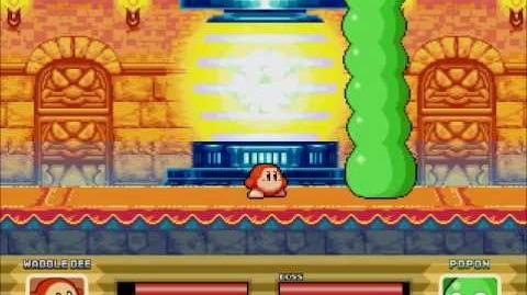 Kirby The Dream Battle Waddle dee Story Preview Boss Battle
