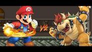 Mario (Flash) vs Bowser (Rpg) Char-Mugen