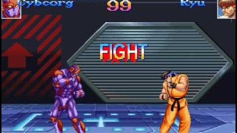 M.U.G.E.N. Duels 12 Cyborg (by Victorys) Vs. Ryu & Ken (by G.D.T
