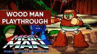 Mega Man Robot Master Mayhem (PC) - Wood Man Gameplay