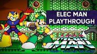Mega Man Robot Master Mayhem (PC) - Elec Man Gameplay Playthrough