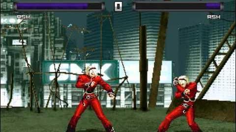 Ash Crimson/Meta Gouki's version