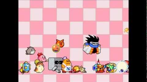 Kirby the dream battle Teaser Fan-game MUGEN