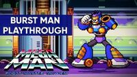 Mega Man Robot Master Mayhem (PC) - Burst Man Gameplay