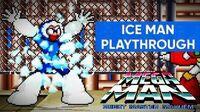 Mega Man Robot Master Mayhem (PC) - Ice Man Gameplay Playthrough