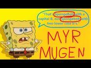 MYR MUGEN- I made a new SpongeBob!