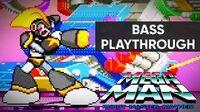 Mega Man Robot Master Mayhem (PC) - Bass Gameplay Playthrough