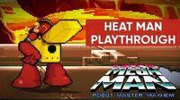 Mega Man Robot Master Mayhem (PC) - Heat Man Gameplay