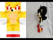 "Mugen - ""Super Sonic"" vs Dark Super Sonic"