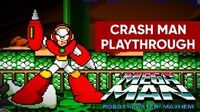 Mega Man Robot Master Mayhem (PC) - Crash Man Gameplay