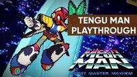 Mega Man Robot Master Mayhem (PC) - Tengu Man Gameplay