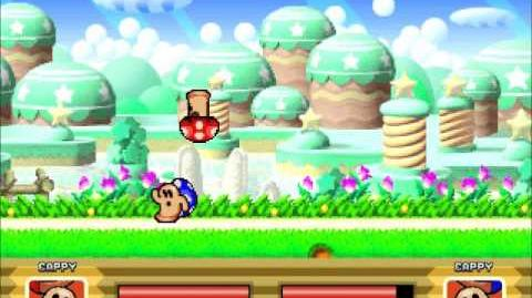 Kirby the dream battle - Cappy gameplay