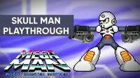 Mega Man Robot Master Mayhem (PC) - Skull Man Gameplay Playthrough