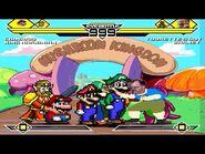 Team Hotel Mario vs Team Tourette's Guy (Youtube Poop) 4v4 Patch MUGEN 1