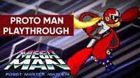 Mega Man Robot Master Mayhem (PC) - Proto Man Gameplay