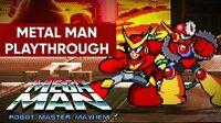 Mega Man Robot Master Mayhem (PC) - Metal Man Gameplay Playthrough