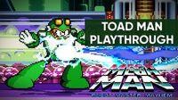Mega Man Robot Master Mayhem (PC) - Toad Man Gameplay