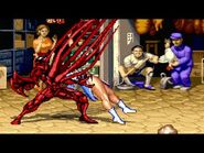 Carnage vs All the characters from Street Fighter 2 - MUGEN 1
