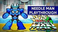 Mega Man Robot Master Mayhem (PC) - Needle Man Gameplay Playthrough