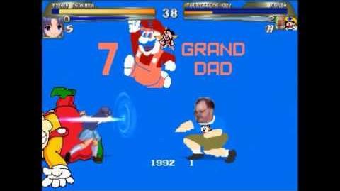 7 GRAND DAD Title Screen