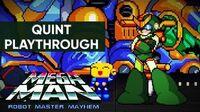 Mega Man Robot Master Mayhem (PC) - Quint Gameplay