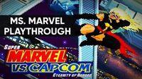 Super Marvel vs. Capcom Eternity of Heroes (PC) - Ms