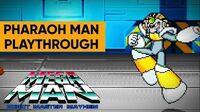 Mega Man Robot Master Mayhem (PC) - Pharaoh Man Gameplay Playthrough