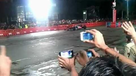 The Lewis Hamilton Show at Bandra Kurla Complex