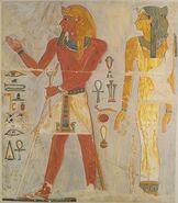 Facsimile of Thutmose I's Relief