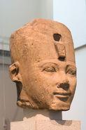 Thutmose I's statue, head