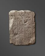 Account of a Campaign of Thutmose I
