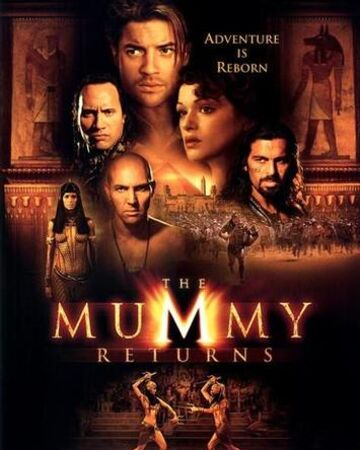The Mummy Returns Rickipedia The Mummy Wiki Fandom The main cast clockwise from the front: the mummy returns rickipedia the
