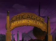 Chicago's International Fair Entry Gate