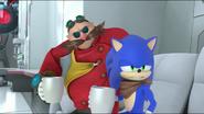 CB Sonic and Eggman