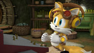 Tails is happy! Cute 4ever